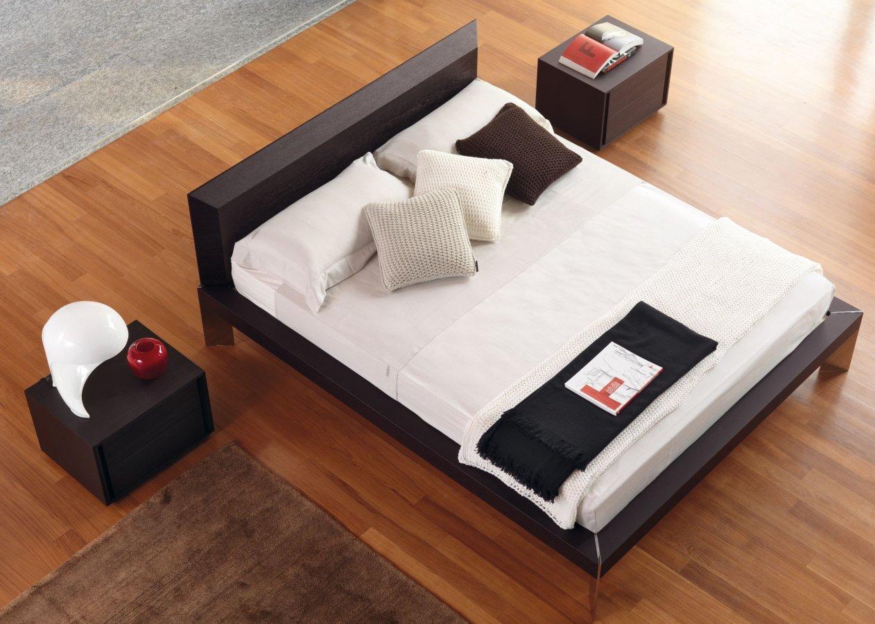 Letto vega rovere moro falegnameria 1946 letti armadi e complementi camera da letto - Complementi camera da letto ...