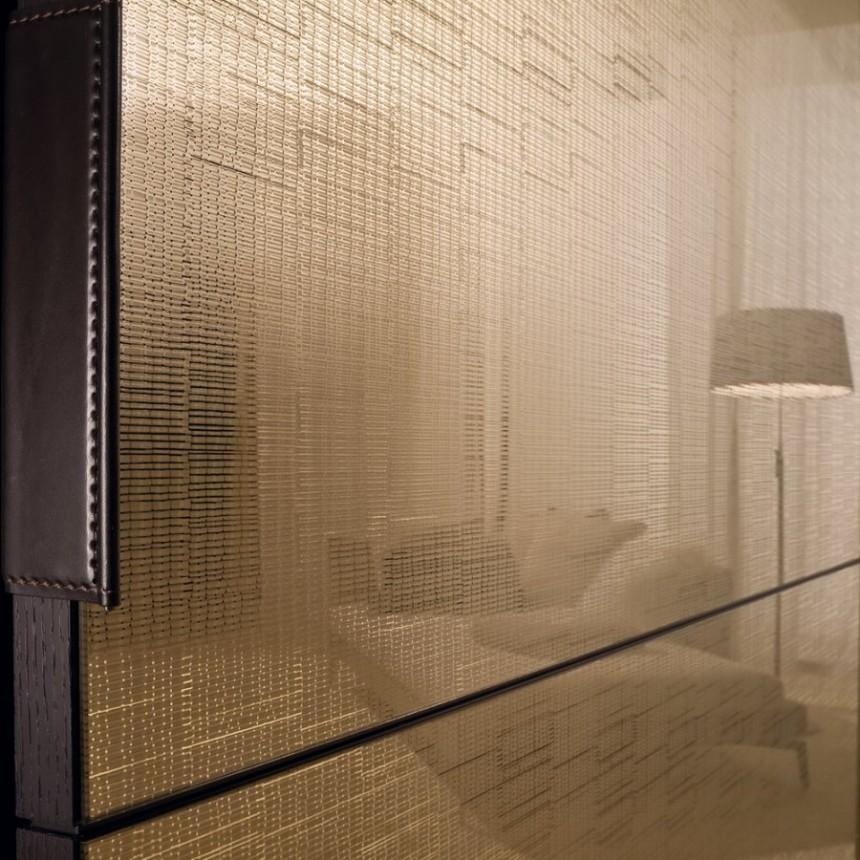 Wall specchio texture falegnameria 1946 letti armadi - Specchio adesivo per anta armadio ...