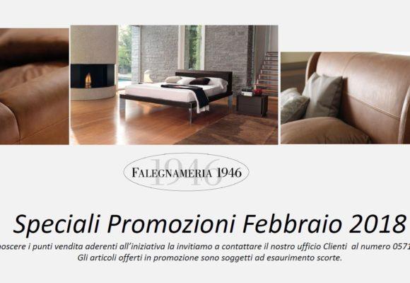 Speciali Promozioni Febbraio 2018