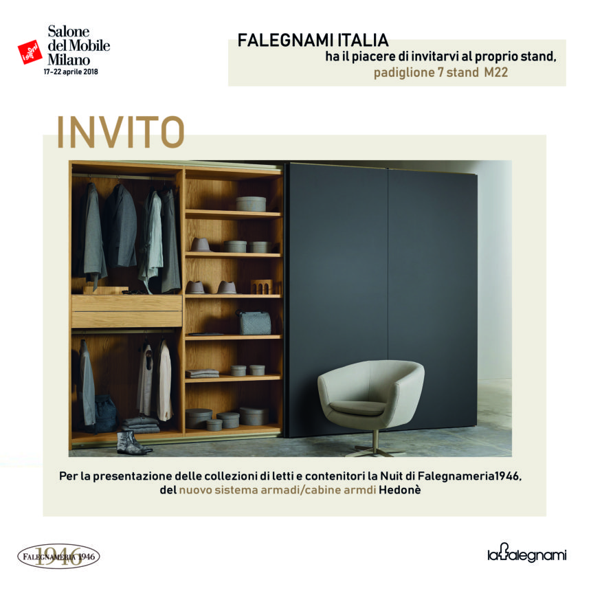SALONE DEL MOBILE DI MILANO 17 – 22 APRIL 2018